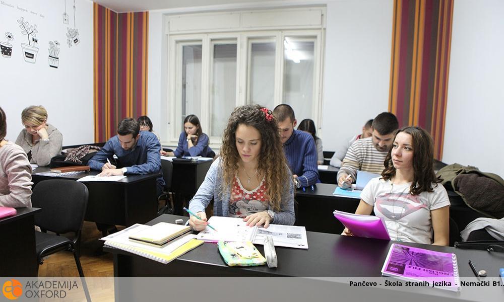 Pančevo - Škola stranih jezika - Nemački B1