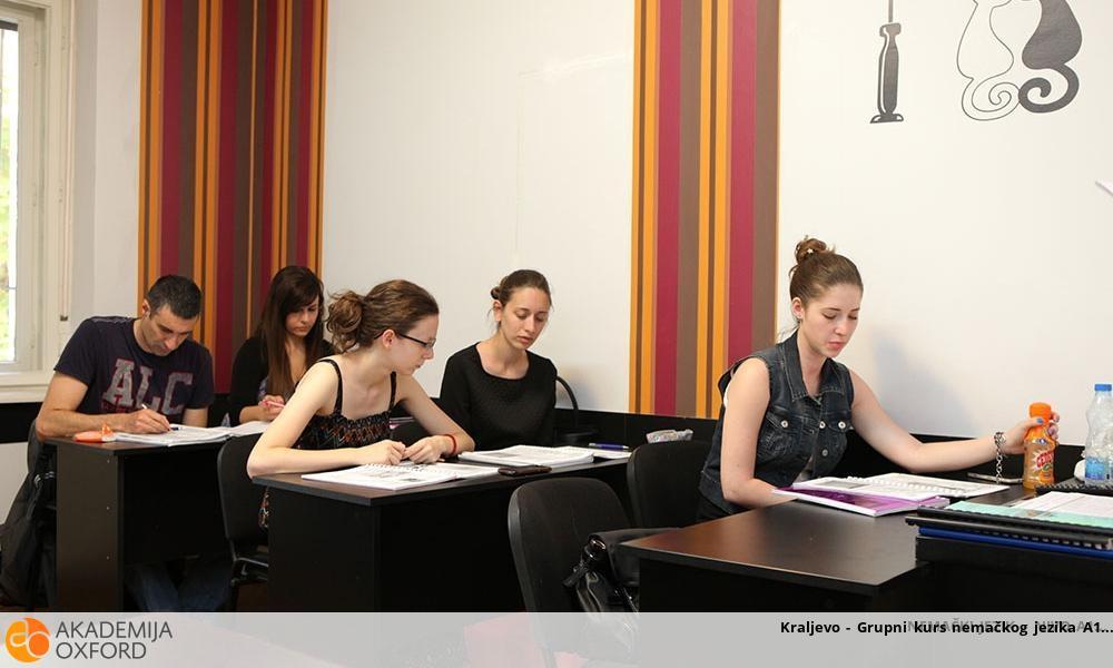 Kraljevo - Grupni kurs nemačkog jezika A1