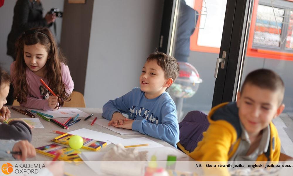 Niš - škola stranih jezika- engleski jezik za decu