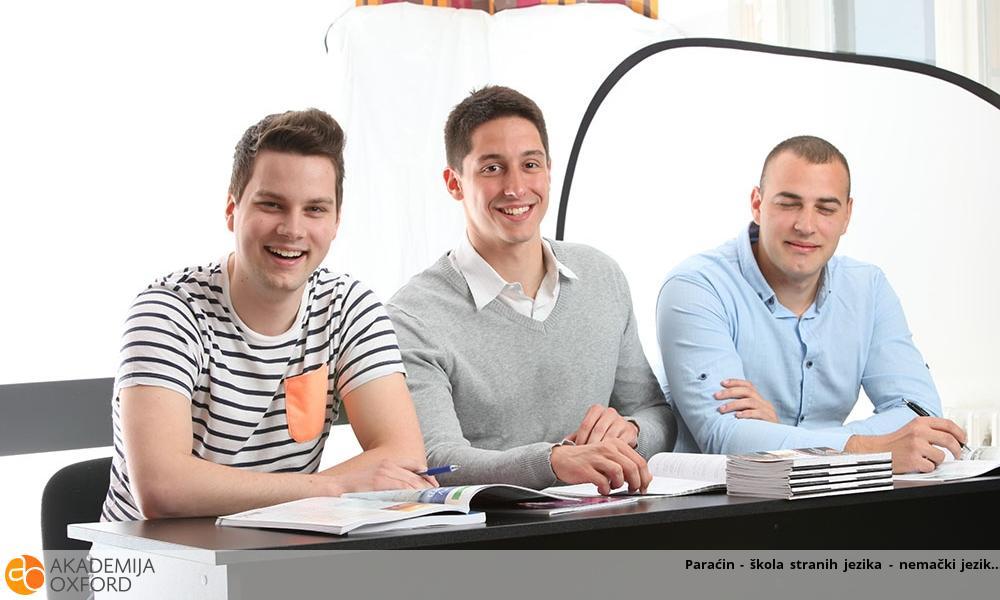 Paraćin - škola stranih jezika - nemački jezik