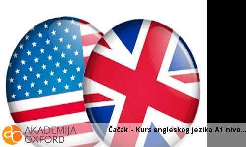 Čačak - Kurs engleskog jezika A1 nivo