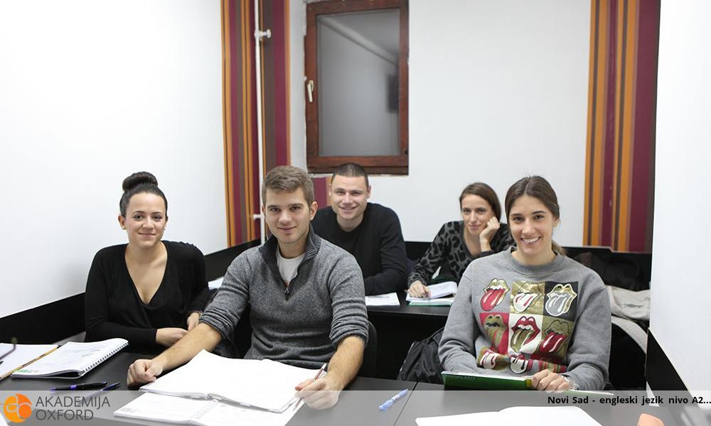 Novi Sad - engleski jezik nivo A2