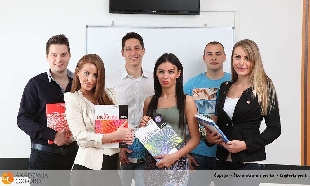 Ćuprija - Škola stranih jezika - Engleski jezik