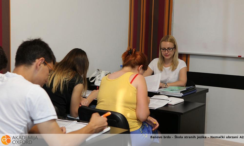 Banovo brdo - Škola stranih jezika - Nemački ubrzani A2
