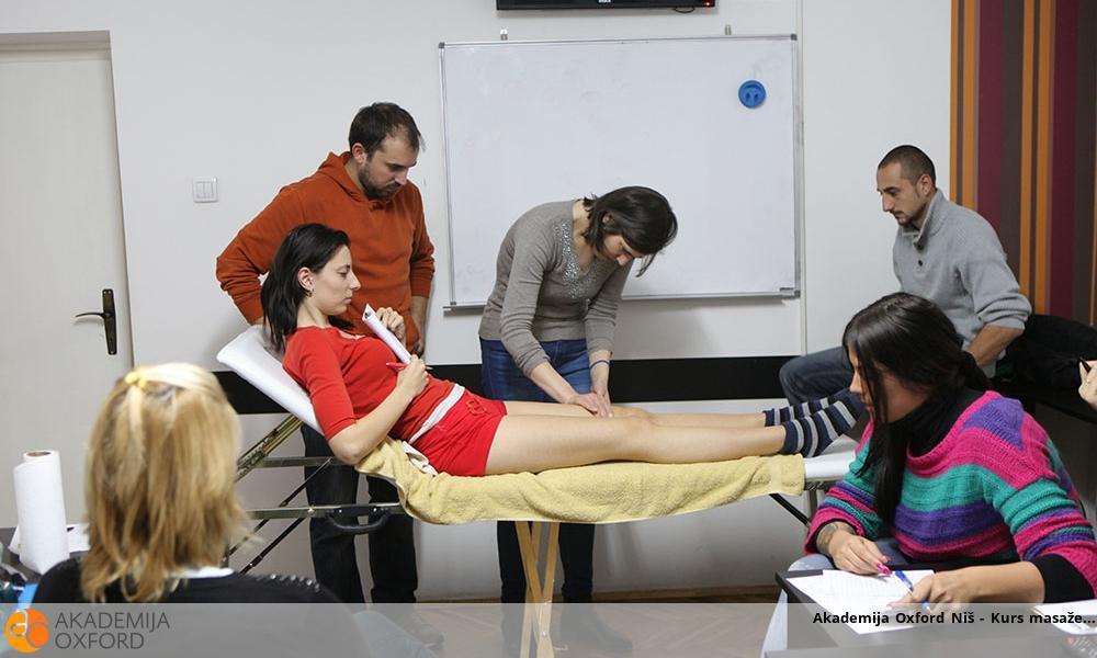 Akademija Oxford Niš - Kurs masaže