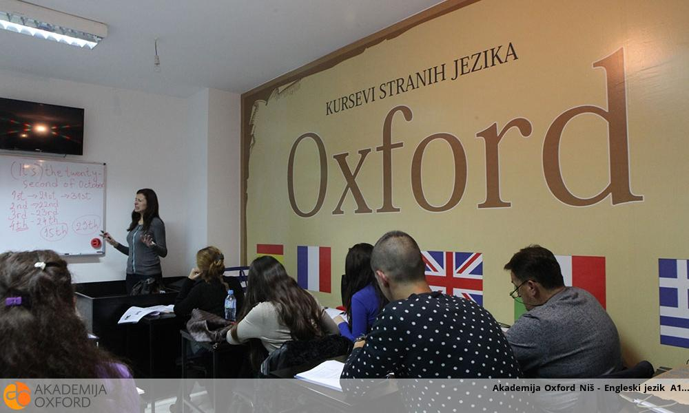 Akademija Oxford Niš - Engleski jezik A1