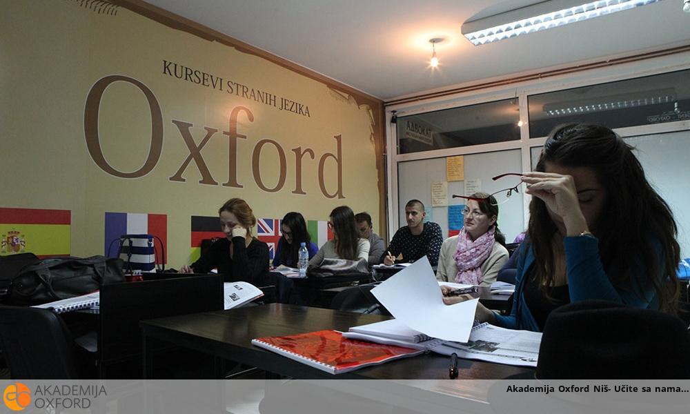 Akademija Oxford Niš- Učite sa nama
