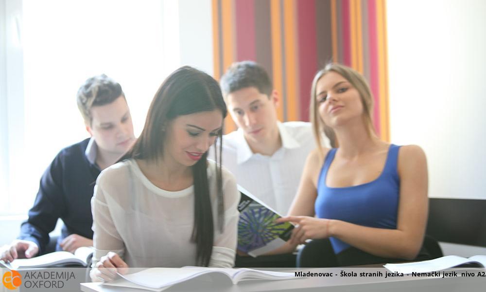 Mladenovac - Škola stranih jezika - Nemački jezik nivo A2