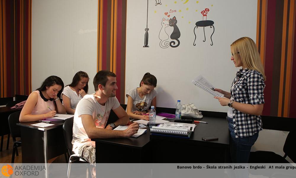 Banovo brdo - Škola stranih jezika - Engleski  A1 mala grupa