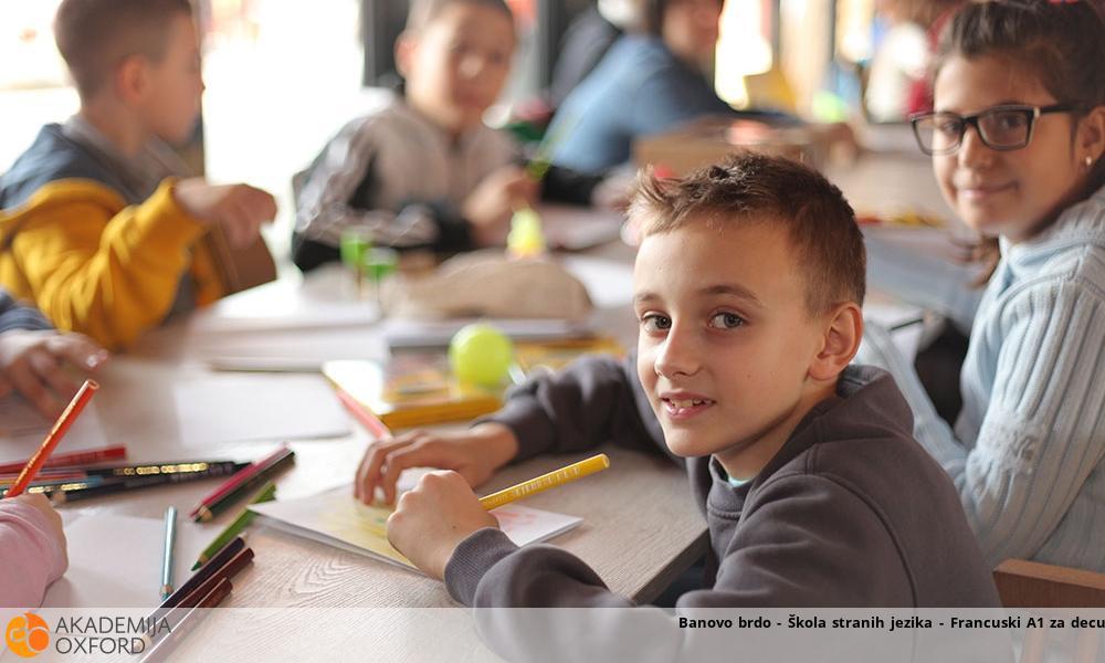 Banovo brdo - Škola stranih jezika - Francuski A1 za decu