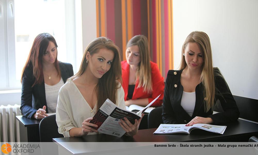 Banovo brdo - Škola stranih jezika - Mala grupa nemački A1