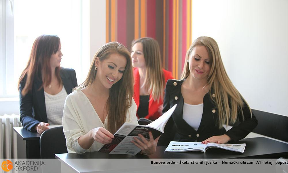 Banovo brdo - Škola stranih jezika - Nemački ubrzani A1 -letnji popust!