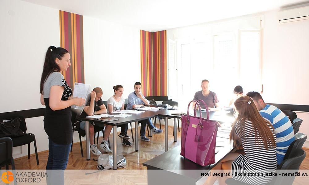 Novi Beograd - škola stranih jezika - nemački A1