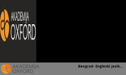 Beograd- Engleski jezik