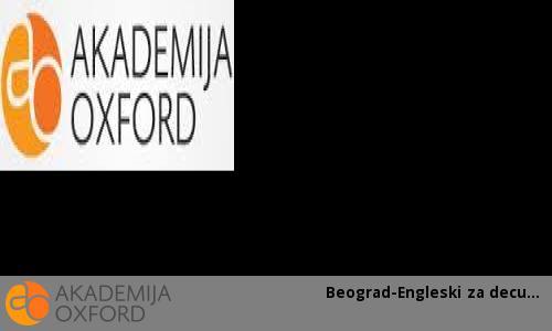 Beograd-Engleski za decu