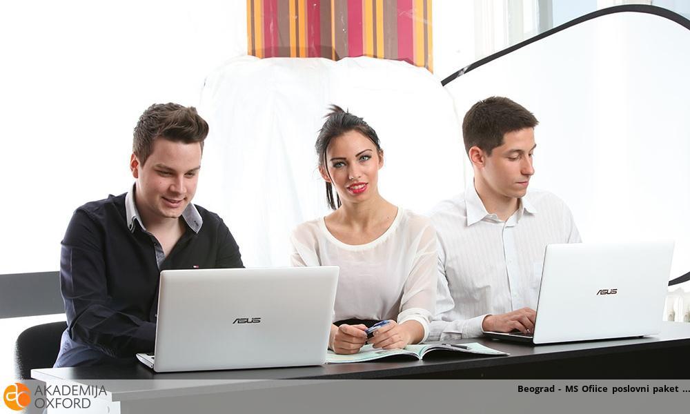 Beograd - MS Ofiice poslovni paket