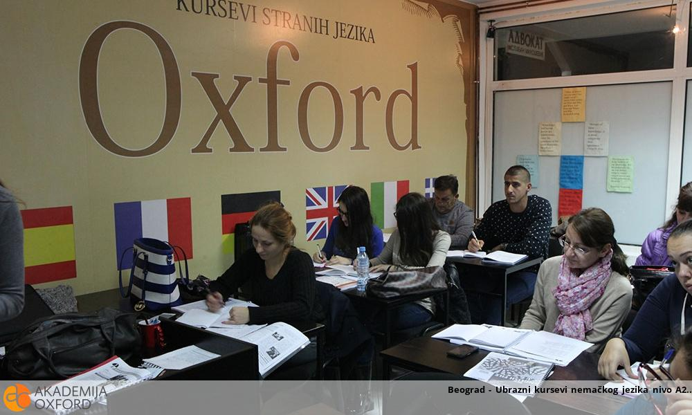Beograd - Ubrazni kursevi nemačkog jezika nivo A2