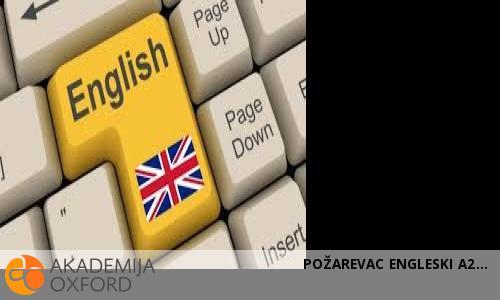 POŽAREVAC ENGLESKI A2