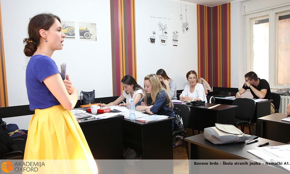 Banovo brdo - Škola stranih jezika - Nemački A1