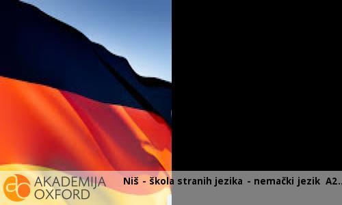 Niš - škola stranih jezika - nemački jezik A2