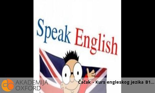 Čačak - Kurs engleskog jezika B1
