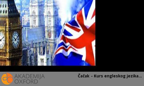 Čačak - Kurs engleskog jezika