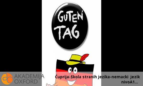 Ćuprija-škola stranih jezika-nemacki jezik nivoA1