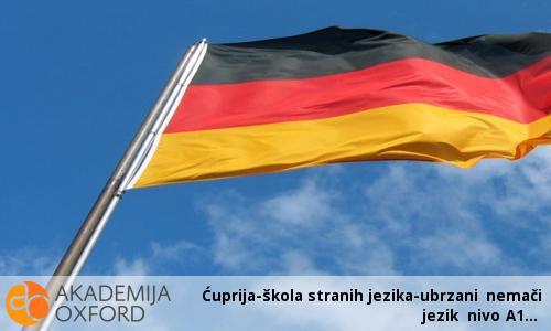 Ćuprija-škola stranih jezika-ubrzani nemači jezik nivo A1