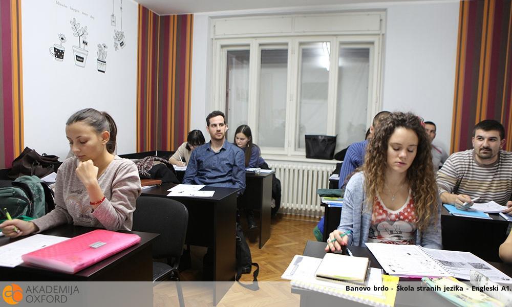 Banovo brdo - Škola stranih jezika - Engleski A1