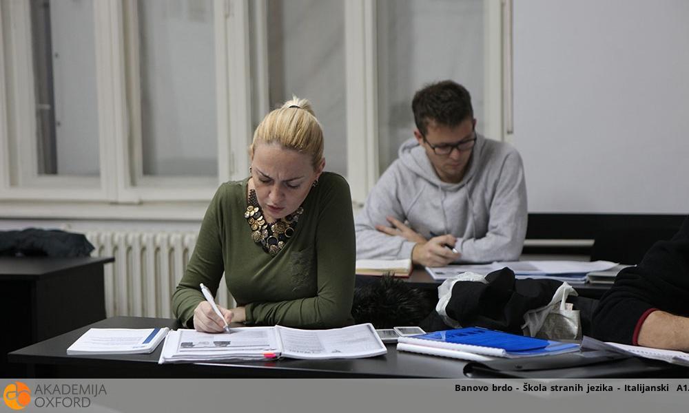 Banovo brdo - Škola stranih jezika - Italijanski  A1
