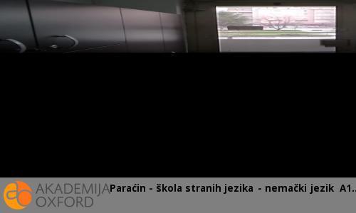 Paraćin - škola stranih jezika - nemački jezik A1