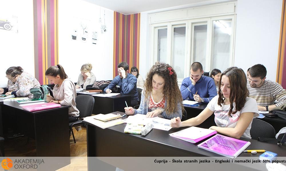 Ćuprija - Škola stranih jezika - Engleski i nemački jezik 50% popusta
