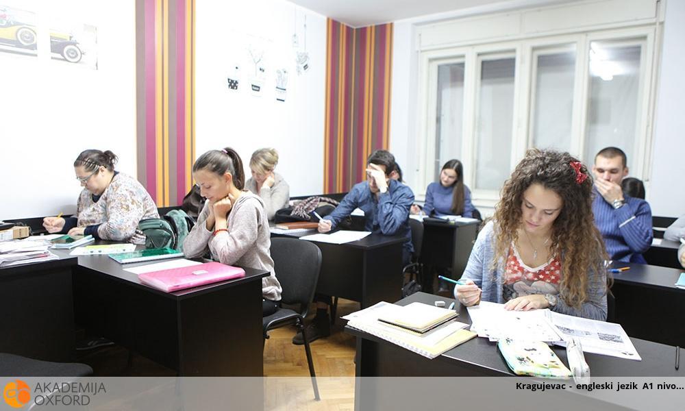 Kragujevac - engleski jezik A1 nivo