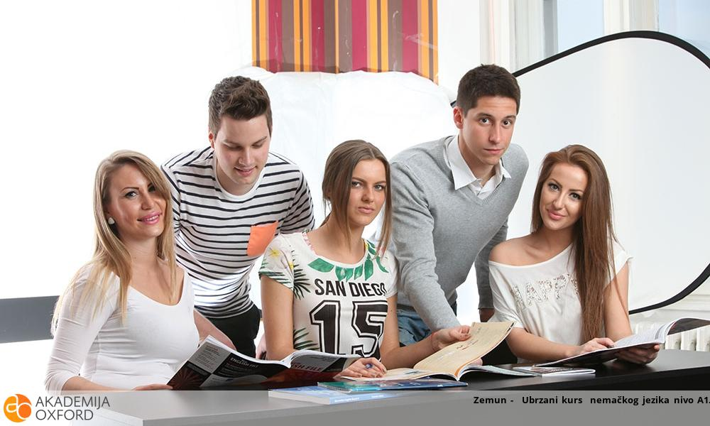 Zemun -  Ubrzani kurs  nemačkog jezika nivo A1