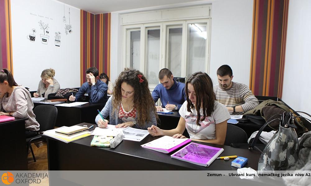 Zemun -  Ubrzani kurs  nemačkog jezika nivo A2