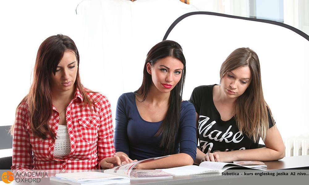 Subotica - kurs engleskog jezika A2 nivo