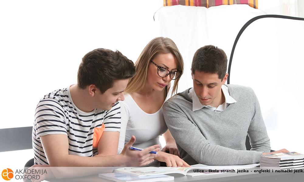 Užice - škola stranih jezika - engleski i nemački jezik