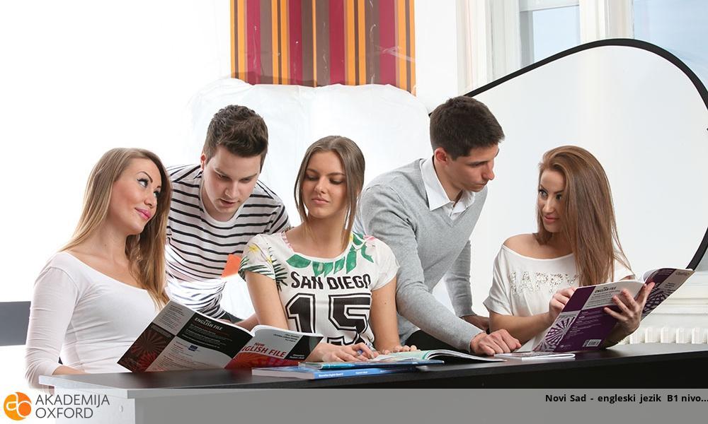 Novi Sad - engleski jezik B1 nivo