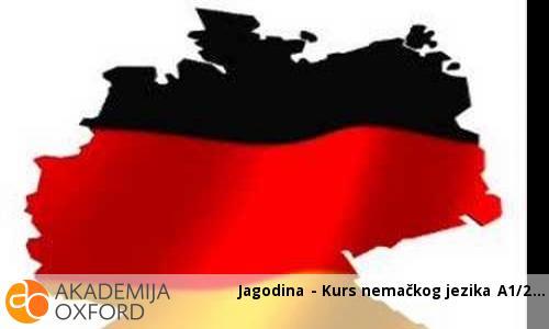 Jagodina - Kurs nemačkog jezika A1/2