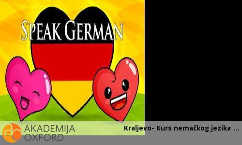 Kraljevo- Kurs nemačkog jezika