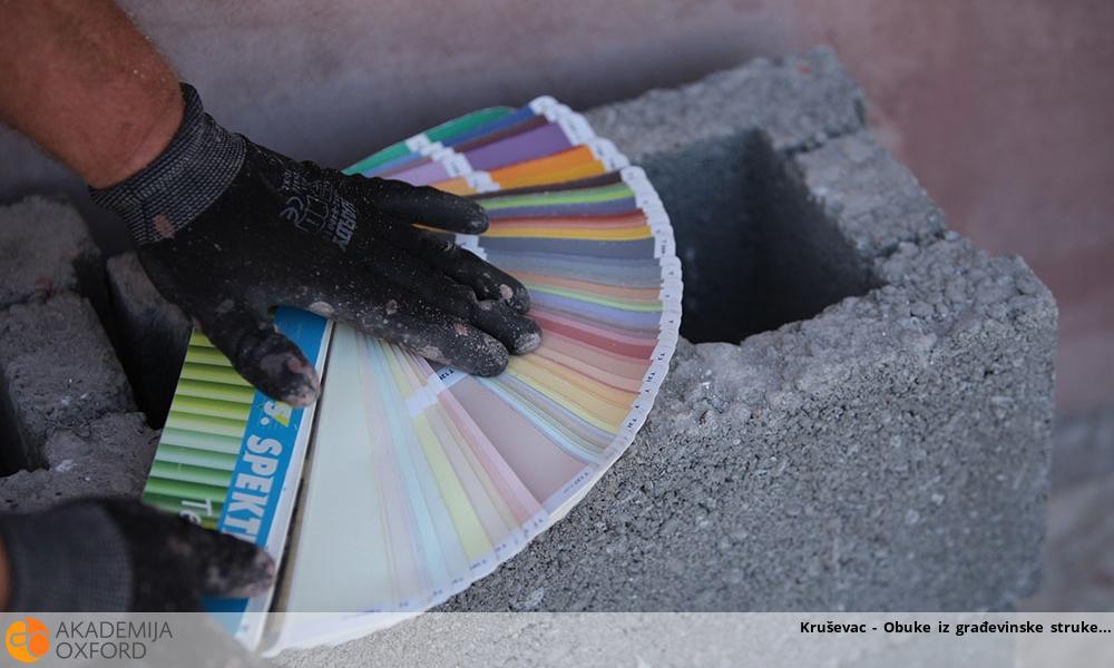 Kruševac - Obuke iz građevinske struke