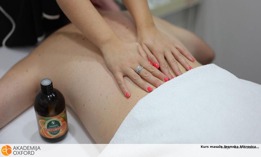 Kurs masaže Sremska Mitrovica