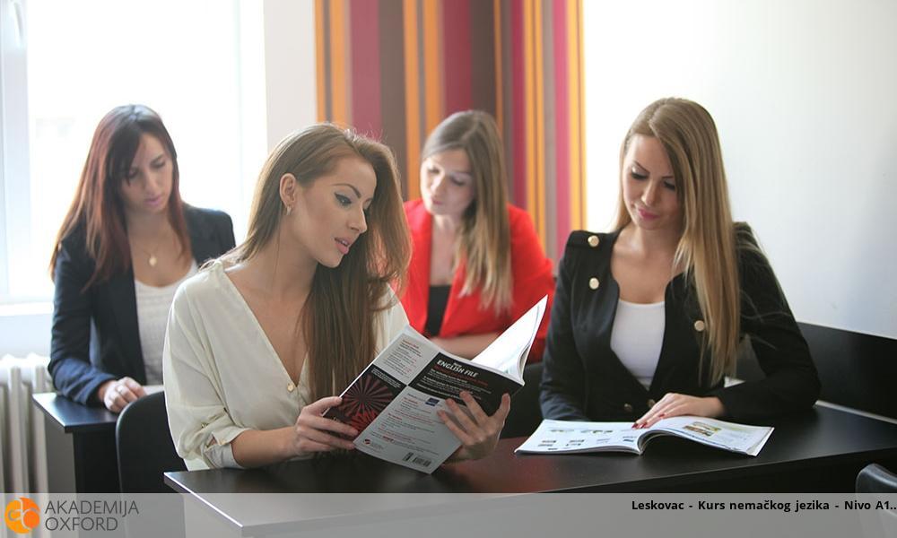 Leskovac - Kurs nemačkog jezika - Nivo A1