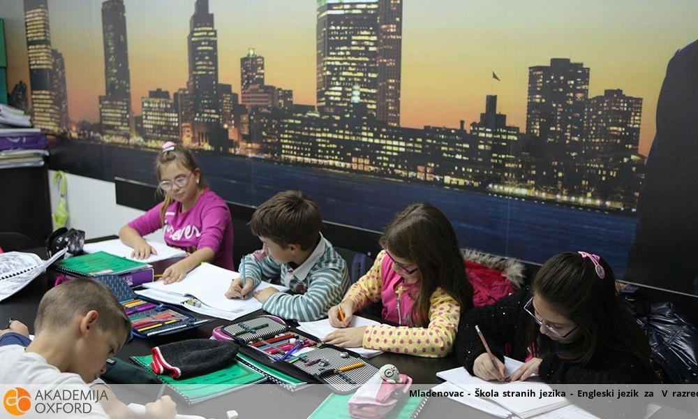 Mladenovac - Škola stranih jezika - Engleski jezik za  V razred