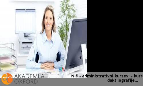 Niš - administrativni kursevi - kurs daktilografije