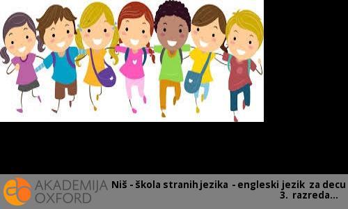 Niš - škola stranih jezika - engleski jezik za decu 3. razreda