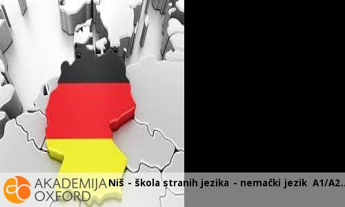 Niš - škola stranih jezika - nemački jezik A1/A2