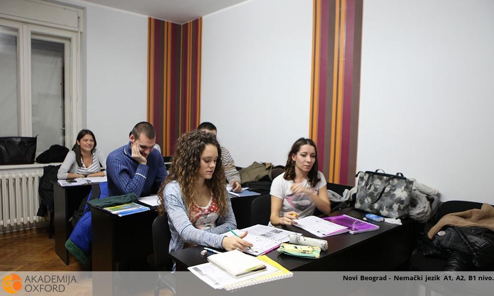 Novi Beograd - Nemački jezik A1, A2, B1 nivo
