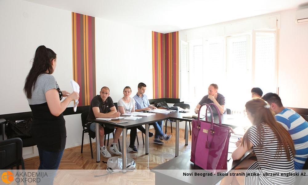 Novi Beograd - škola stranih jezika- ubrzani engleski A2
