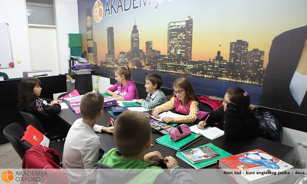 Novi Sad - kurs engleskog jezika - deca